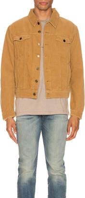 Saint Laurent Classic Denim Jacket in Beige   FWRD