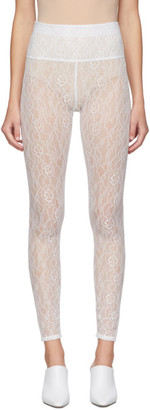 Commission SSENSE Exclusive White Lace Beach Leggings