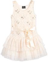 Pink & Violet Tutu Dress, Little Girls (2-6X)