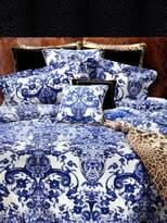 Roberto Cavalli Azuleyos Cotton Sateen Duvet Cover