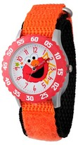Sesame Street Stainless Steel Time Teacher Watch - Orange