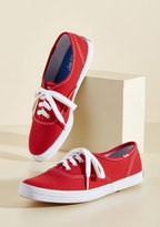 Keds It's Been Too Longboard Sneaker in Red in 6