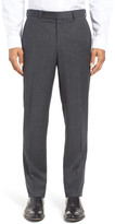 Ted Baker Jefferson Trim Fit Houndstooth Wool Trousers