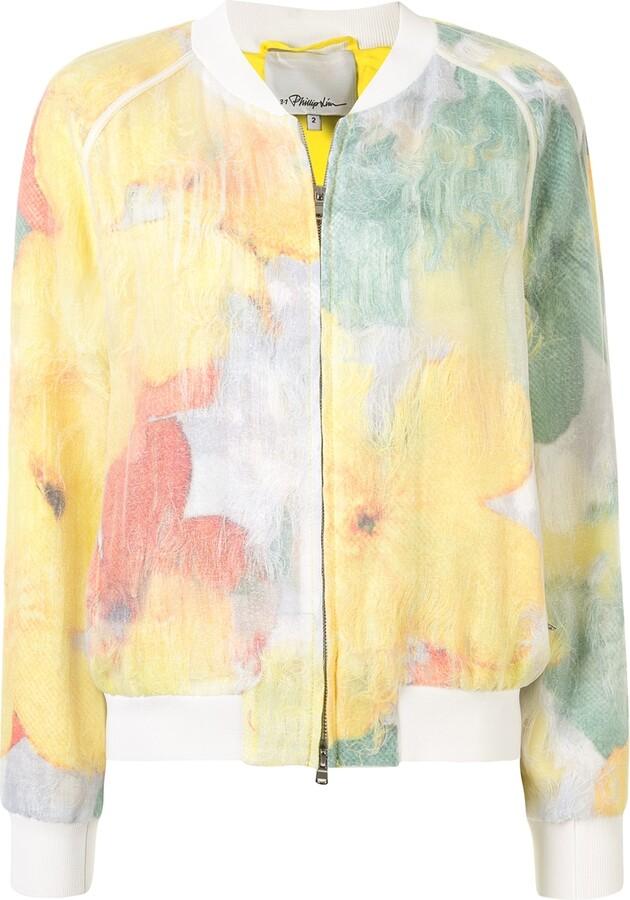 3.1 Phillip Lim Transparent Frame bomber jacket