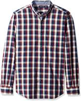 Nautica Men's Classic Fit Marine Plaid Shirt