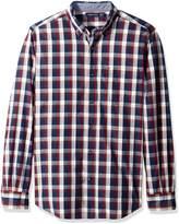Nautica Men's Classic Fit Marine Plaid Shirt