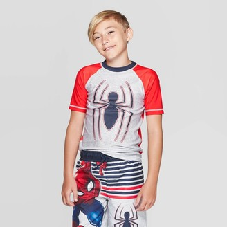 Spiderman Boy' pider-Man Rah Guard wim hirt -