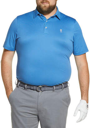 Izod Big and Tall Golf Fairway Gingham Polo Shirt
