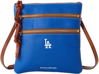 Dooney & Bourke MLB Dodgers N S Triple Zip Crossbody