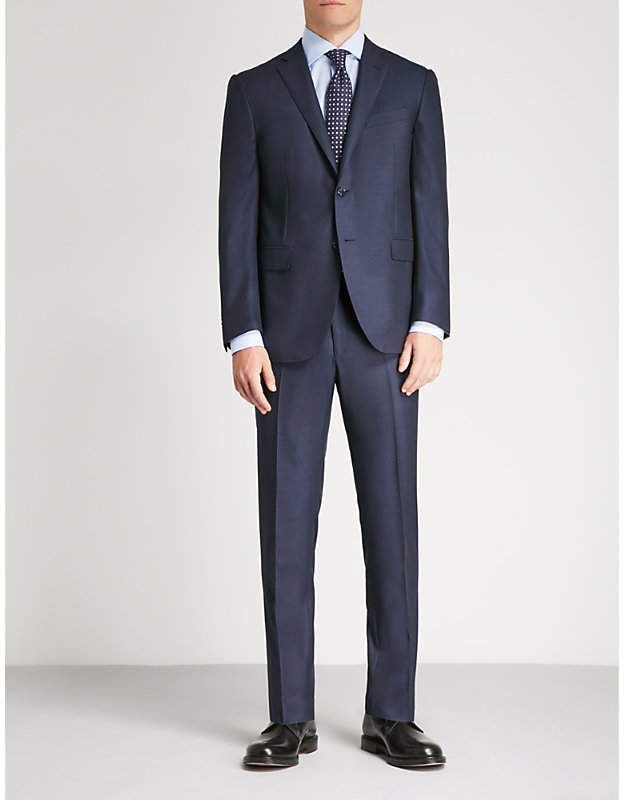 Corneliani Academy-fit wool suit