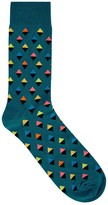 Happy Socks Diamond Cotton Blend Socks