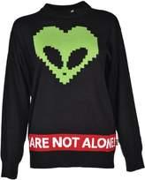 Love Moschino Alien Print Sweater
