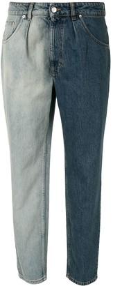 IRO Two-Tone Denim Jeans