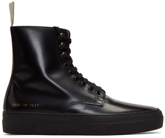 Robert Geller x Common Projects Combat Boot