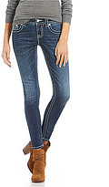 Miss Me Feather Pocket Skinny Jeans