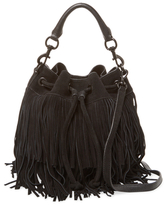 Rebecca Minkoff Fiona Fringe Leather Bucket Bag