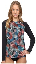 Carve Designs Sunset Rash Guard Women's Swimwear