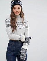 Jack Wills Headband & Mitten Gift Set