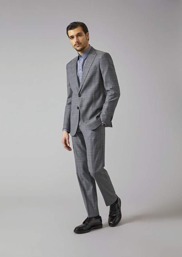 Giorgio Armani Soho Suit In Virgil Wool
