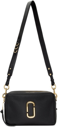 Marc Jacobs Black The Softshot 27 Bag