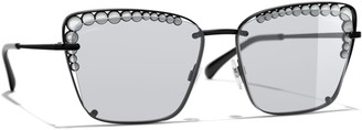 Chanel Square Sunglasses CH4235H Black