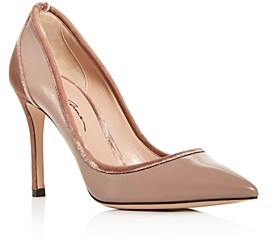 Giorgio Armani Women's Decolette Kitten-Heel Pumps