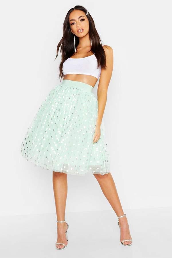 50ca1a237efa51 Mint Pleated Skirt - ShopStyle UK