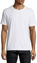 Valentino Short-Sleeve Shirt with Back Stud, White
