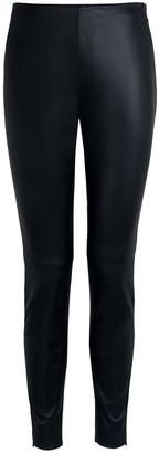 Amanda Wakeley Black Leather Leggings