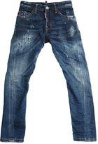 DSQUARED2 Slim Destroyed Stretch Denim Jeans