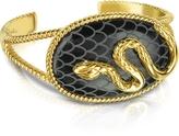 Just Cavalli Amazonia Gold Plated Bangle Bracelet