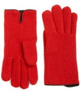 Portolano Honeycomb Cashmere Gloves