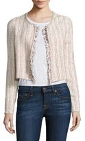 Theory Galinne Cropped Boucle Jacket