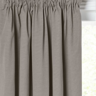 House by John Lewis Arlo Pair Lined Pencil Pleat Curtains