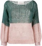 Chiara Bertani colour block cardigan