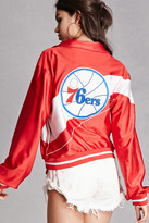 Forever 21 FOREVER 21+ Vintage 76ers Track Jacket