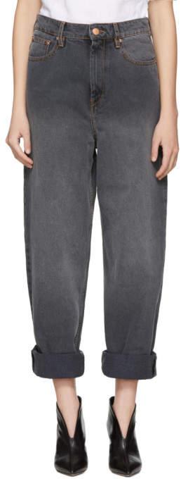 Etoile Isabel Marant Grey Corby Jeans