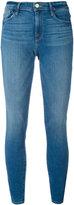 Frame high-rise skinny jeans - women - Cotton/Polyester/Spandex/Elastane - 29