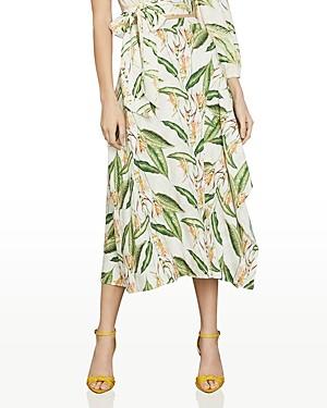 BCBGMAXAZRIA Bird Of Paradise Midi Skirt