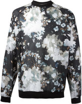 MSGM floral raglan sweatshirt - men - Cotton - 46