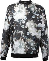 MSGM floral raglan sweatshirt - men - Cotton - 50