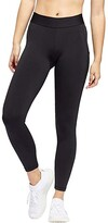 adidas Alphaskin Sport 7/8 Tights (Black/White) Women's Casual Pants