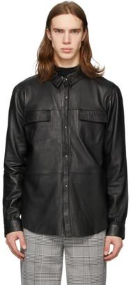 Stolen Girlfriends Club Black Aviator Sheath Shirt Jacket