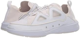 Lacoste Gennaker 42 120 1 (White/Off-White) Men's Shoes