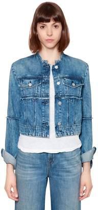 J Brand Slim Crop Denim Jacket