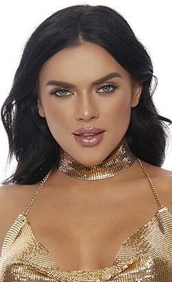 Forplay Women's The Missing Link Chainmail Choker