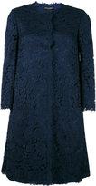 Dolce & Gabbana lace coat - women - Cotton/Viscose/Polyamide/Spandex/Elastane - 40