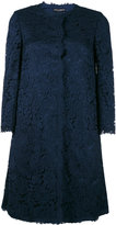 Dolce & Gabbana lace coat - women - Silk/Cotton/Polyamide/Viscose - 42
