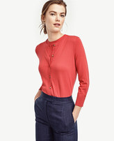 Ann Taylor Home Sweaters Cropped Ann Cardigan Cropped Ann Cardigan