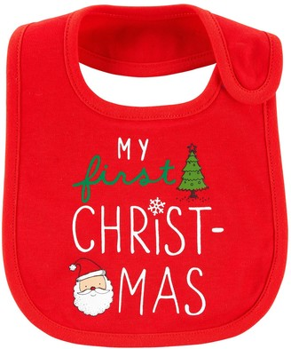 Carter's Baby Christmas Teething Bib